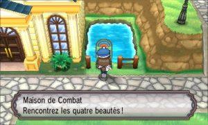 Maison de Combat Pokémon X & Y