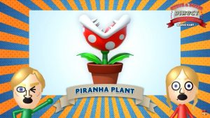 Mario Kart 8 Direct - Plante Piranha