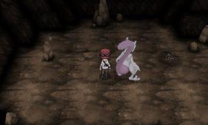 Mewtwo dans la Grotte Inconnue