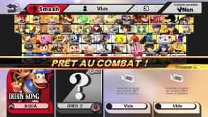 Mode Smash Smash Wii U