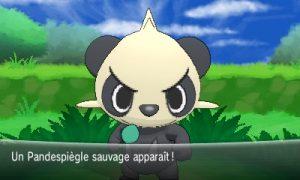 Pandespiègle sauvage Pokémon X & Y