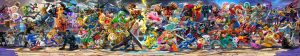 Artwork panoramique de Smash Ultimate