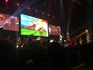 Thème Pokémon au Paris Game Week Symphony