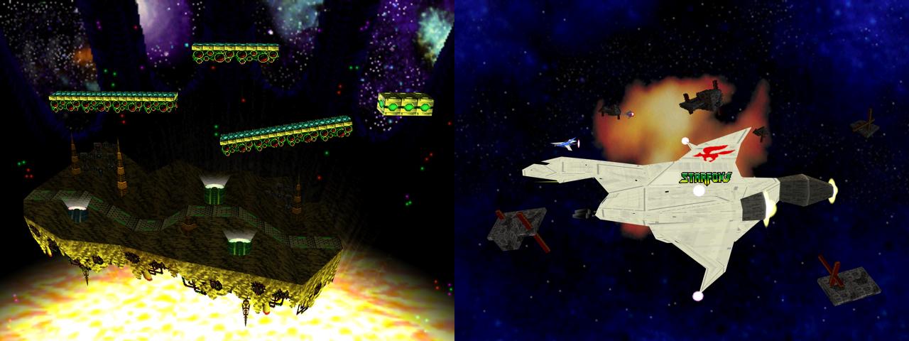 Planète Zebes & Secteur Z - Super Smash Bros.