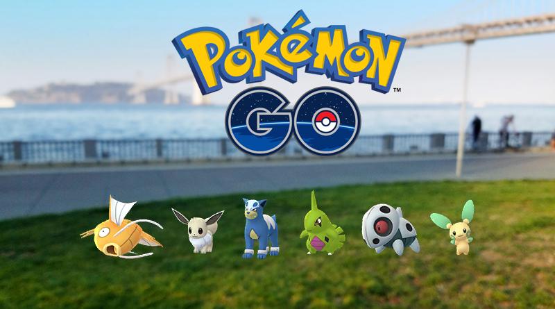 Pokémon chromatique dans Pokémon GO