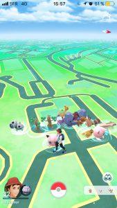 Pokémon sauvages - Pokémon GO