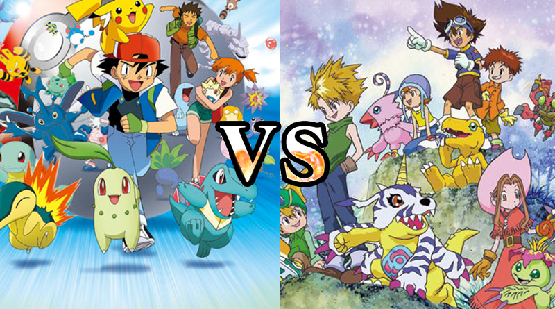 Pokémon VS Digimon