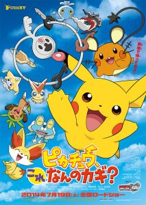 "Affiche ""Pikachu, What's This Key?"""