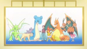 Red dans Pokémon Origins