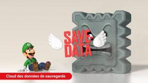Illustration de la sauvegarde dans le cloud - Nintendo Switch