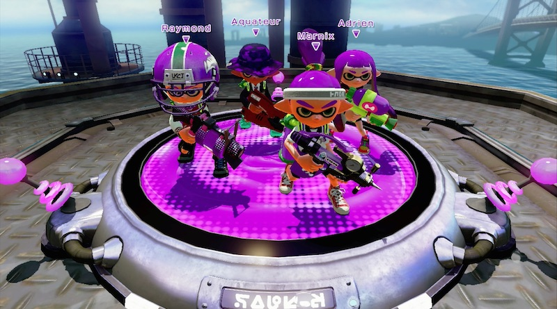 Team Violet Splatoon