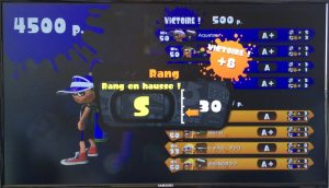 Splatoon Rang S
