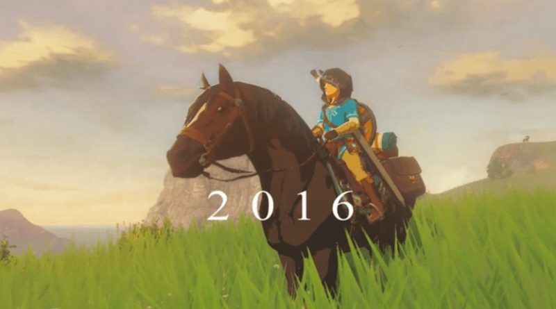 Teasing Zelda Breath of the Wild