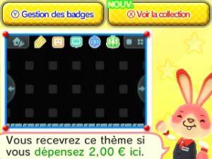 Achat thème 3DS