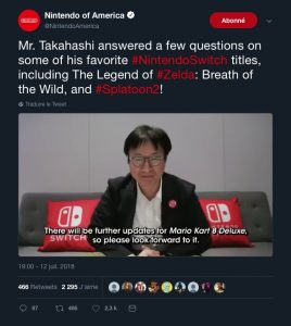 Tweet vidéo - Nintendo of America à propos de Mario Kart 8 Deluxe