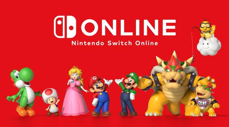 Illustration Nintendo Switch Online