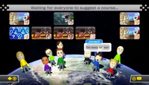 Mario Kart 8 - choix du circuit