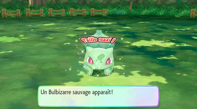 Bulbizarre shiny - Pokémon Let's Go