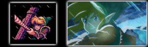 Comparaison des intro de Link's Awakening DX et de son remake Switch