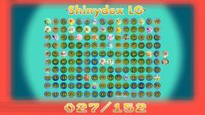 Shinydex sur Pokémon Let's Go
