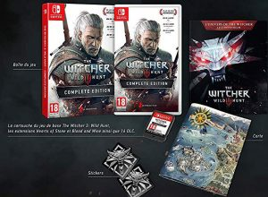 The Witcher III collector Switch