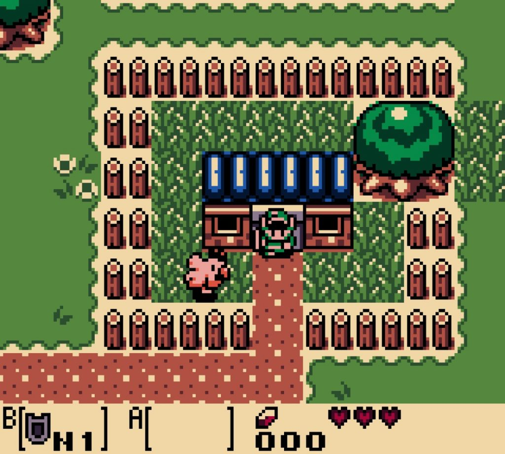 Village des Mouettes - Zelda Link's Awakening DX