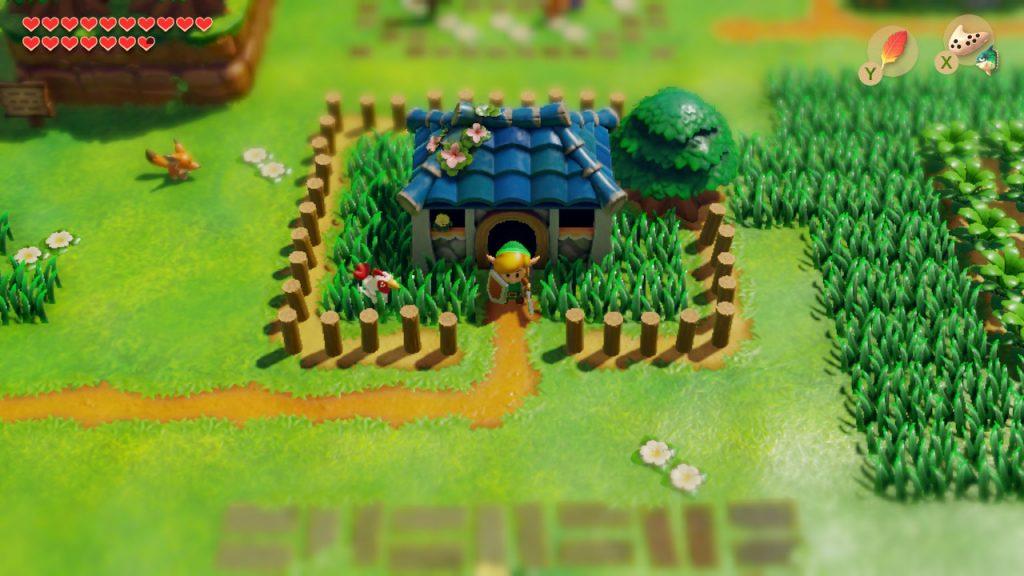 Village des Mouettes - Zelda Link's Awakening Switch