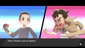 Combat VS Artiste - Pokémon Épée et Bouclier
