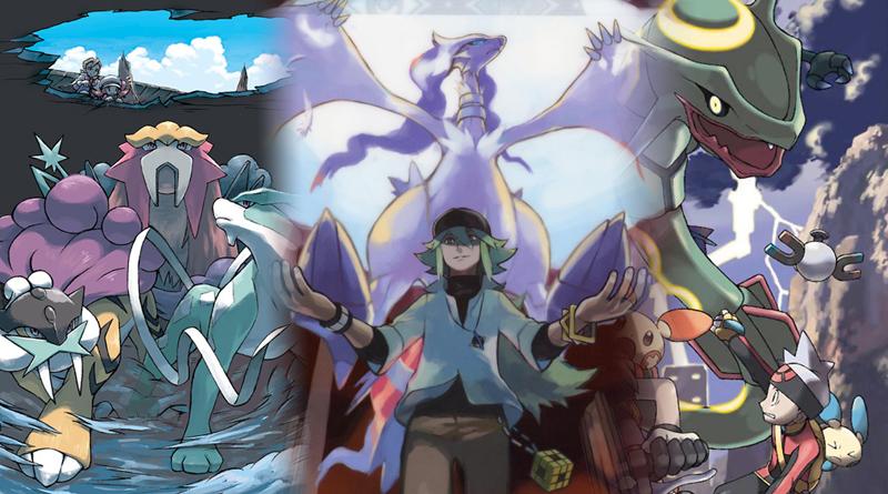 Pokémon NB2, HGSS et RS - mes trois jeux préférés