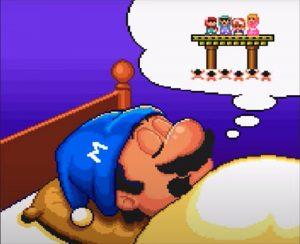Ending Super Mario Bros USA