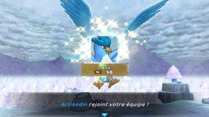 Pokémon Donjon Mystère DX Artikodin Recrutement