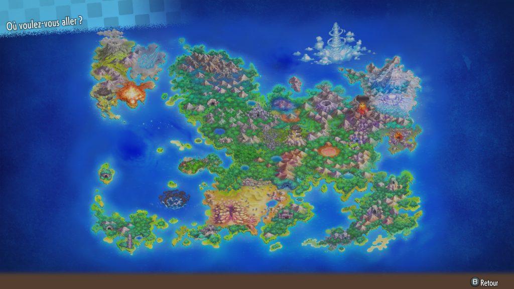 Artwork des donjons - Pokémon Donjon Mystère DX