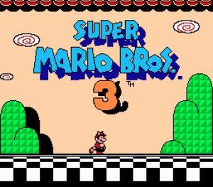 Ecran titre - Super Mario Bros. 3