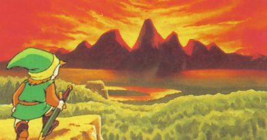 Artwork de Zelda I sur NES
