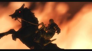 Ganondorf à cheval - Zelda Twilight Princess