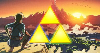 Artwork Link & Triforce