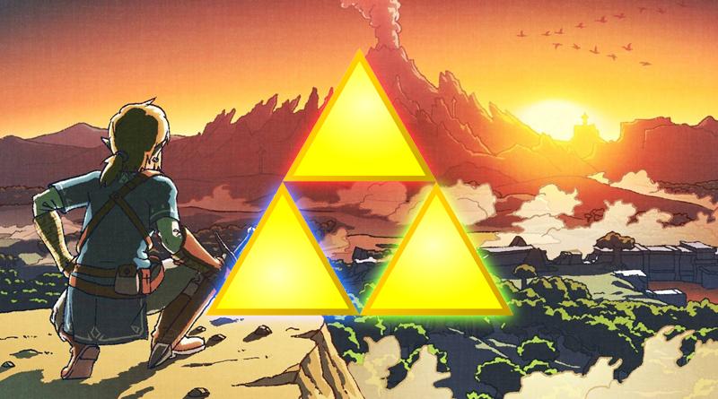 Artwork Link & Triforce