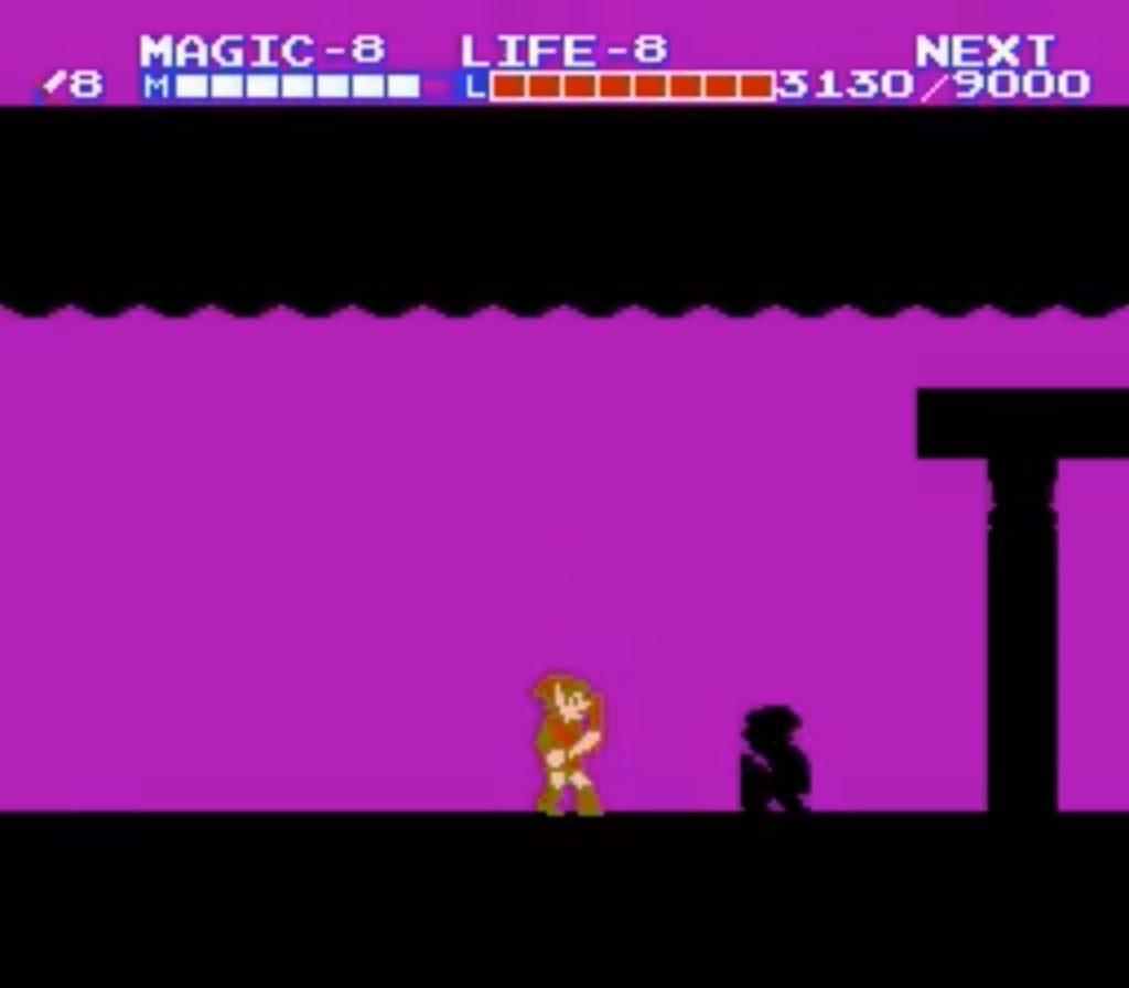VS Dark Link - Zelda 2