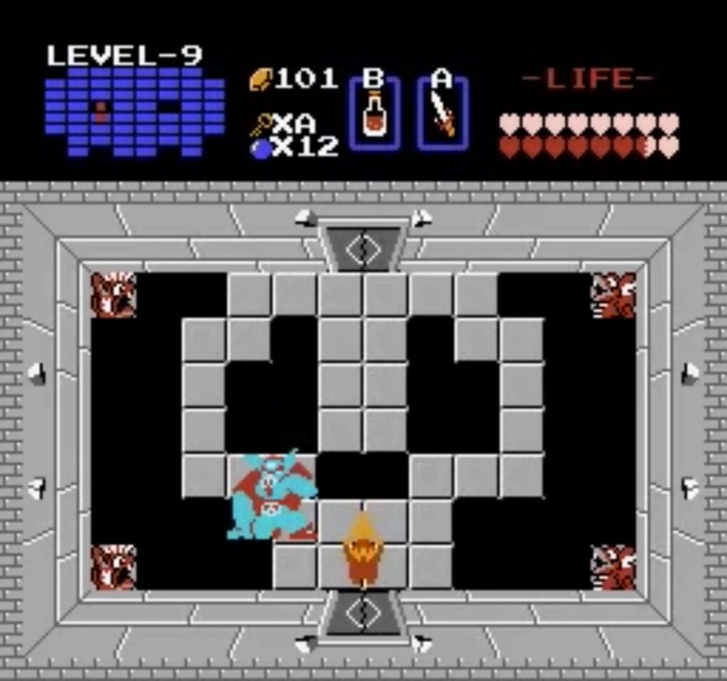 VS Ganon - Zelda 1