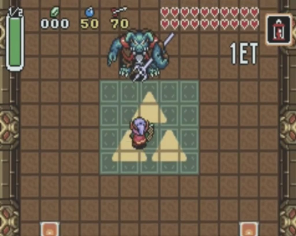 VS Ganon - A Link To The Past
