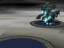 Rencontre avec Zekrom shiny - Pokémon Blanc