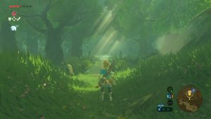 Zelda Breath of the Wild - Forêt Korogu