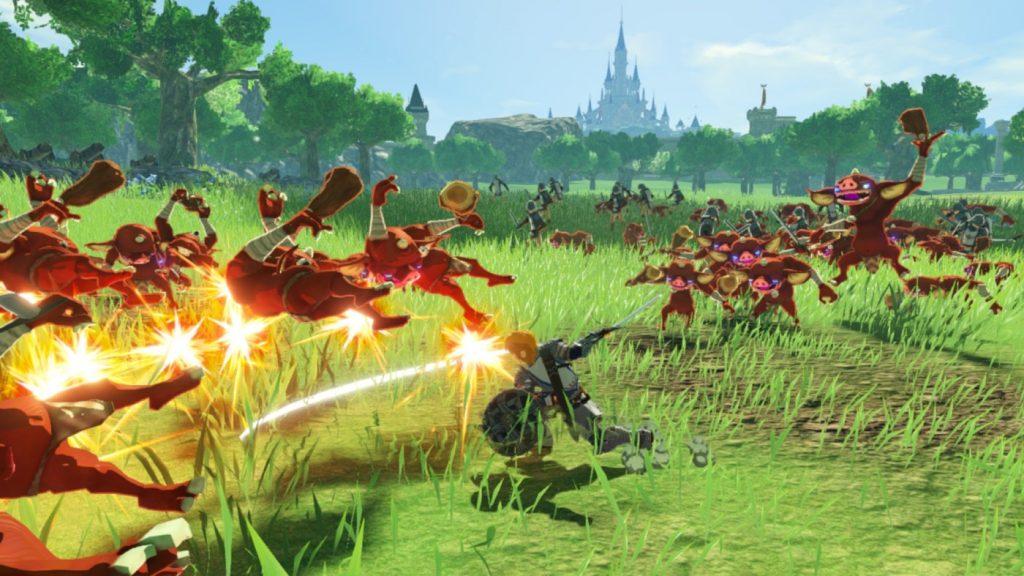 Link contre des Bokoblin - Hyrule Warriors 2