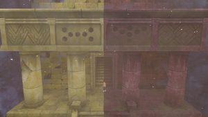 Temple des Ruines du Choix - Couronneige