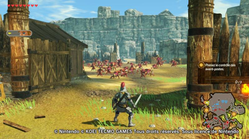Première bataille avec Link - Hyrule Warriors : L'Ère du Fléau