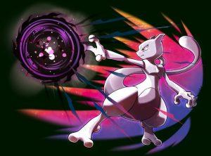Artwork Mewtwo - Distribution de Pokémon 22