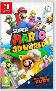 Box art de Super Mario 3D World + Bowser's Fury