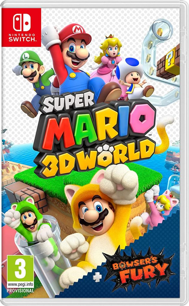 Box art de Super Mario 3D World + Bowser's Fury
