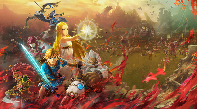 Artwork d'Hyrule Warriors : l'Ère du Fléau