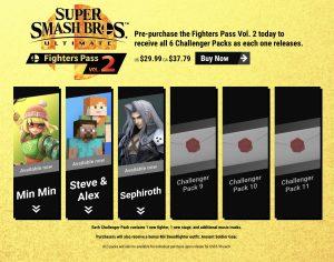 Fighter Pass Vol. 2 (dec. 2020) - Smash Bros. Ultimate
